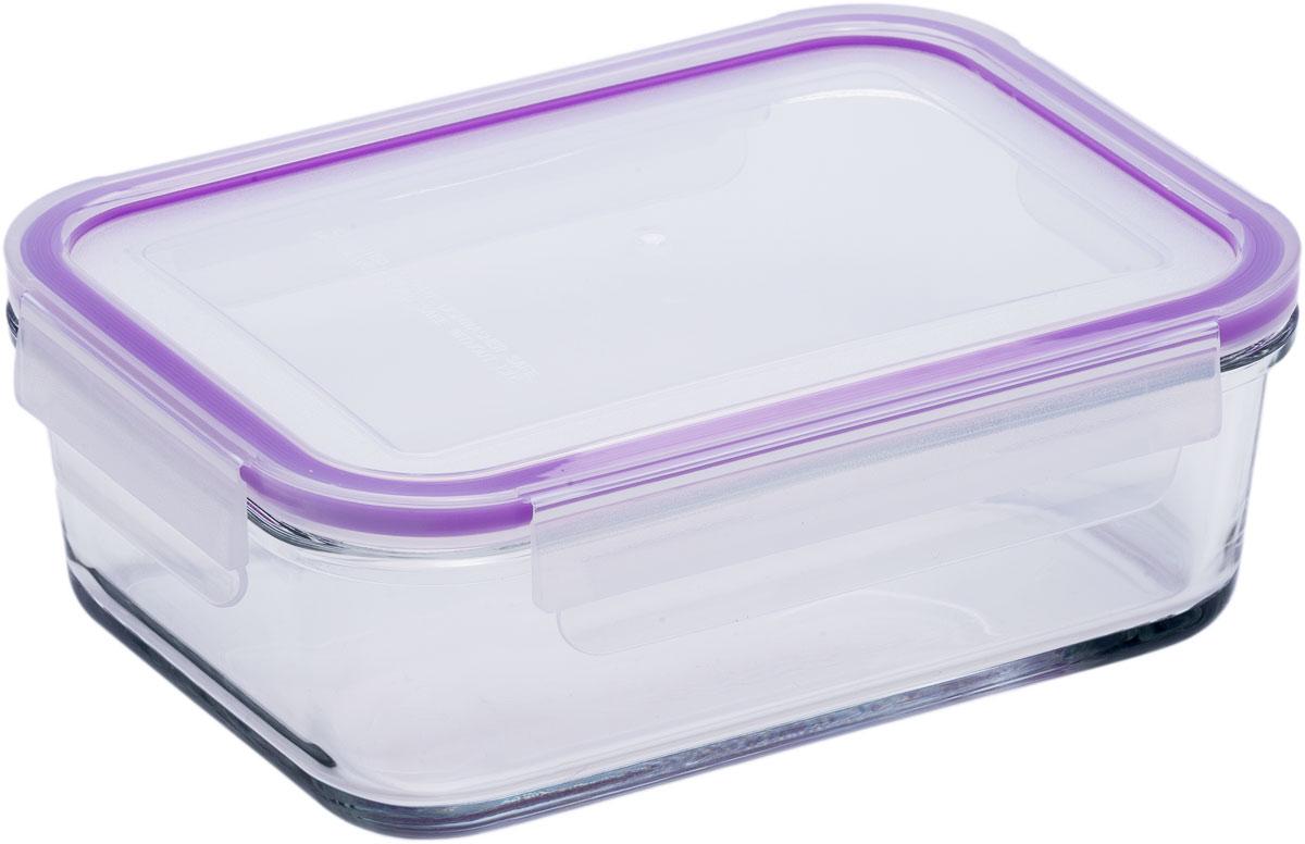 Контейнер пищевой Eley, прямоугольный, цвет: баклажан , 1,6 лGR1042_фиолетовыйПрямоугольный пищевой контейнер Eley выполнен из жаропрочного боросиликатного стекла. Крышка Air Lock изготовлена из полипропилена иоснащена силиконовым уплотнителем, для обеспечения полной герметичности внутри контейнера. В крышку встроен вентиляционный клапан дляудобства использования в холодильных и морозильных камерах.Он подходит для использования в микроволновой печи и духовке (без крышки). Подходит для использования в холодильнике и морозильной камере. Подходит для использования в посудомоечной машине.Контейнер можно использовать как форму для запекания (до +400 С).