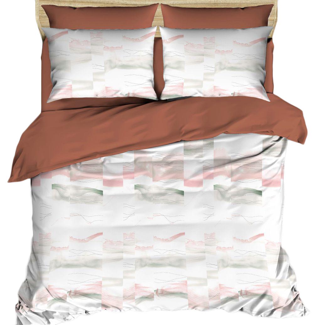 Комплект постельного белья Василиса Будто случайно, 2-спальный, наволочки 70x70;50x70. 163538163538Комплекты постельного белья Василиса коллекции Люкс (из сатина, 100% хлопок) - это российский продукт высочайшего качества ткани, с полноценной евро-простыней и дизайнерскими расцветками.Бесшовное.Ткань очень приятна на ощупь, блестящая и плотная.Сатиновое постельное белье долговечно и выдерживает большое число стирок.Не пилингуется.Способ застегивания наволочки - клапан, пододеяльника - отверстие без застежки по краю изделия с подвернутым краем.Советы по выбору постельного белья от блогера Ирины Соковых. Статья OZON Гид
