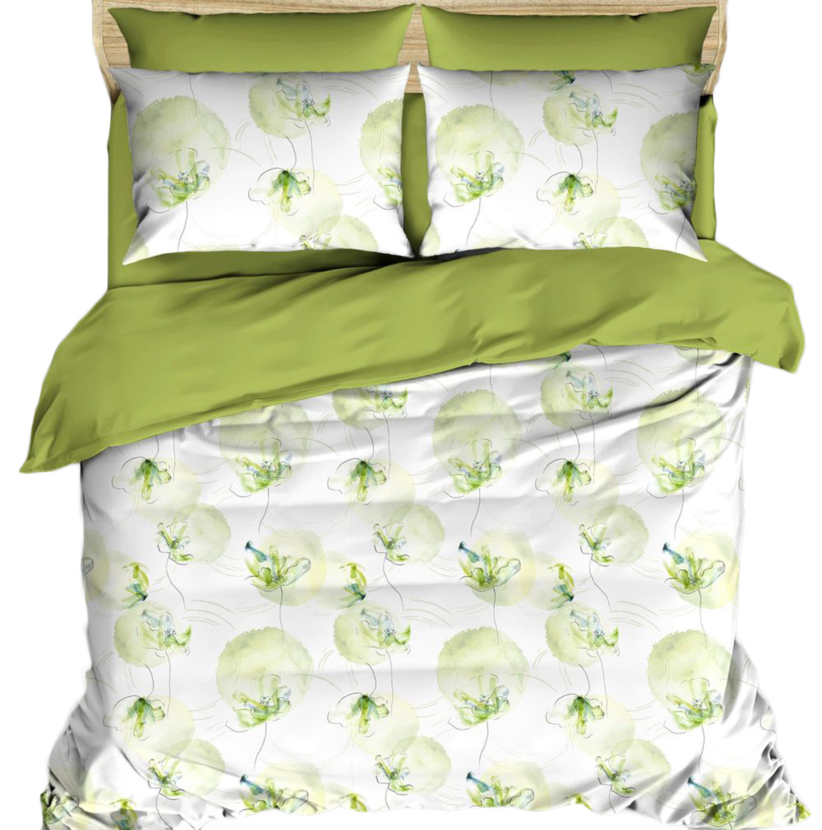 Комплект постельного белья Василиса Будто случайно, евро, наволочки 70x70;50x70. 163545 комплекты белья