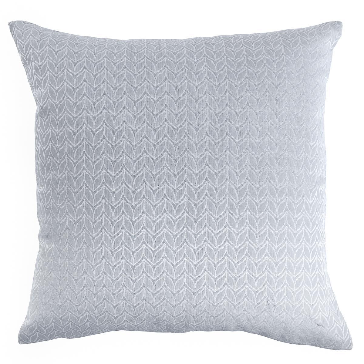 Наволочка декоративная Wess Serenity, цвет: светло-серый, 40 х 40 смB02-05Декоративная наволочка из жаккардовой ткани с потайной молнией. Однотонные ткани хорошо сочетаются с обоями с выразительным рисунком. Чтобы придать нотку чувственности вашей комнате, используйте постельное белье с эффектным принтом.Плотность: 240 г/м2.