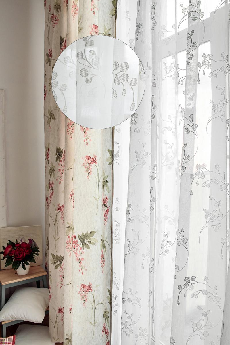Тюль Wess Harmony, на ленте, цвет: белый, 300 х 280 смB11-07Тюль Wess выполнен из сетчатой ткани с вышивкой. Воздушная ткань привлечет к себе внимание и идеально оформит интерьерлюбого помещения.Полиэстер - вид ткани, состоящий из полиэфирных волокон. Ткани из полиэстералегкие, прочные и износостойкие. Такие изделия не требуют специальногоухода, не пылятся и почти не мнутся. Крепление к карнизу осуществляется при помощи вшитой шторной ленты.Ширина боковой кромки - 2 см.Ширина нижней кромки - 5 см.