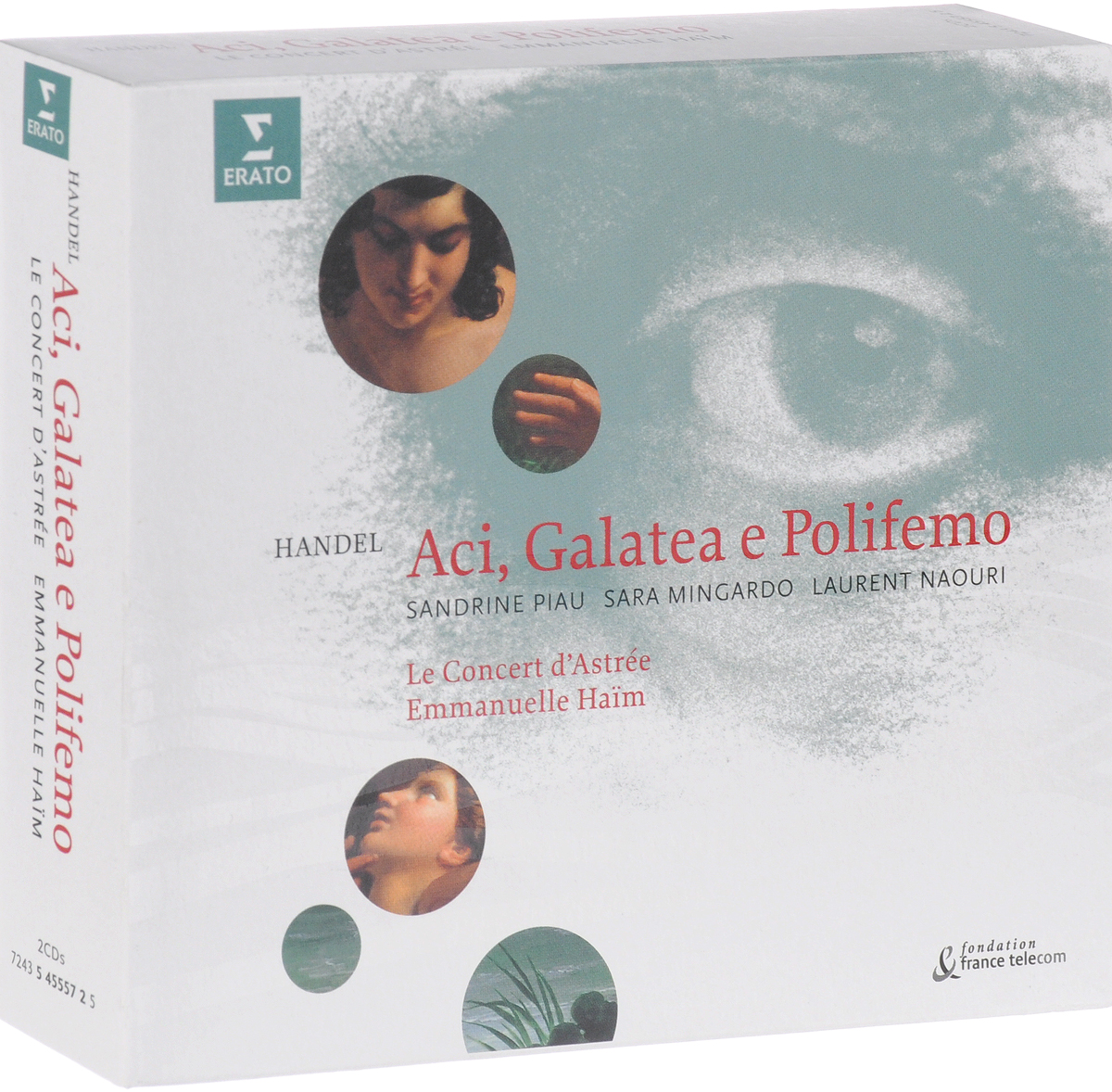 Георг Гендель George Frideric Handel. Aci, Galatea E Polifemo (2 CD) poets of the fall