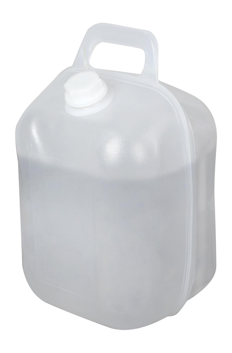 Канистра складная Сплав, цвет: прозрачный, 10 л5260610Мечтали просыпаться под шепот родника, засматривались на фотографии затерянного горного озера, а под ногами выжженная равнина? Не расстраивайтесь! Ручей можно захватить с собой!Пластиковая складная канистра – это легко, удобно и позволяет не привязываться к источникам воды.Она предназначена для перевозки и/или хранения питьевой или технической воды, но в ней отлично себя чувствуют и другие питьевые жидкости.Путешествуя на машине, вы всегда будете иметь воду для обеда и перекуса, и сможете остановиться в любом понравившемся месте.Базовые лагеря спелеологов, лагеря любителей серфинга и кайта, охотничьи домики, лесные стоянки часто находятся в некотором отдалении от питьевой воды, которую в этом случае можно приносить/привозить и хранить в канистрах.Легкая полиэтиленовая канистра (Вес: 216 г) компактно складывается, занимая в рюкзаке совсем немного места.В сложенном виде канистру можно использовать в качестве контейнера для овощей и фруктов, а также для других хозяйственных нужд.