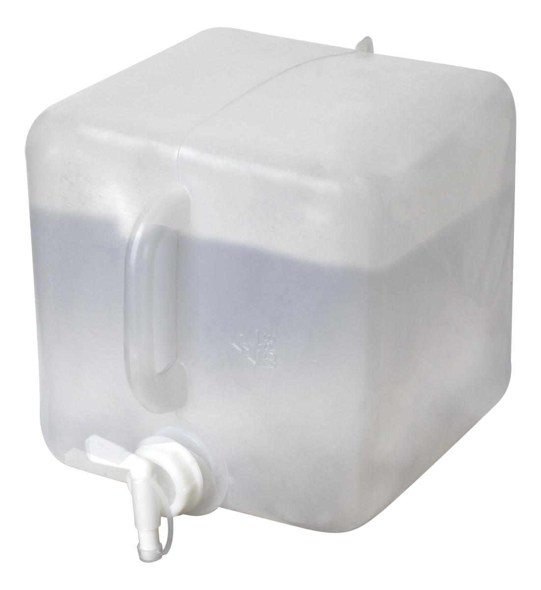 Канистра складная с краном Сплав, цвет: прозрачный, 10 л канистра для воды нпп технохим складная 11 л