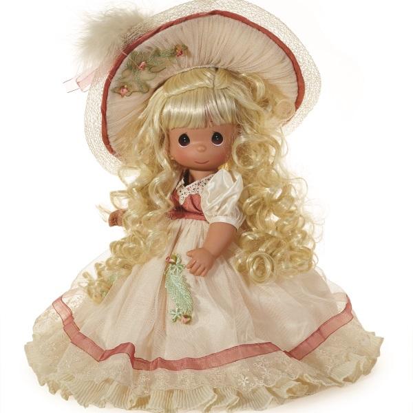 precious moments кукла ты мой друг Precious Moments Кукла Викторианское очарование блондинка