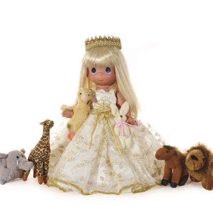 Precious Moments Кукла Маленький ребенок поведет их блондинка кукла март precious moments 14см