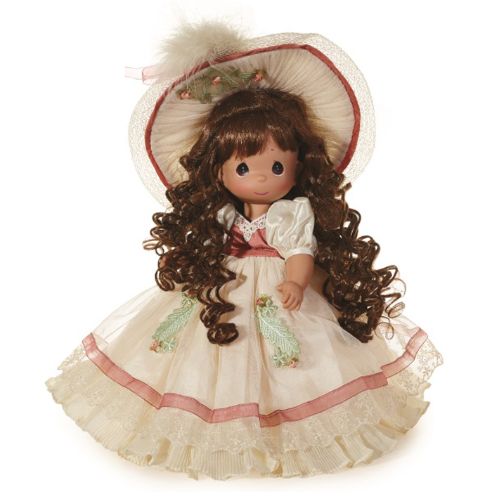 Precious Moments Кукла Викторианская светлость брюнетка куклы и одежда для кукол precious кукла мой принц придет 30 см