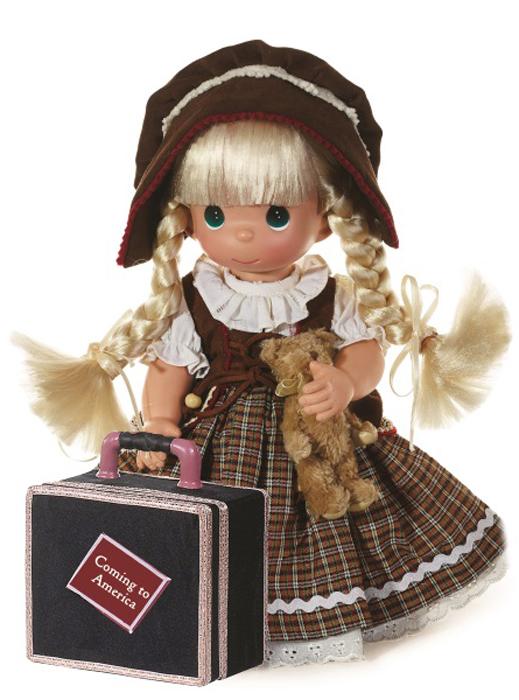 precious moments кукла ты мой друг Precious Moments Кукла Путешественница Германия блондинка
