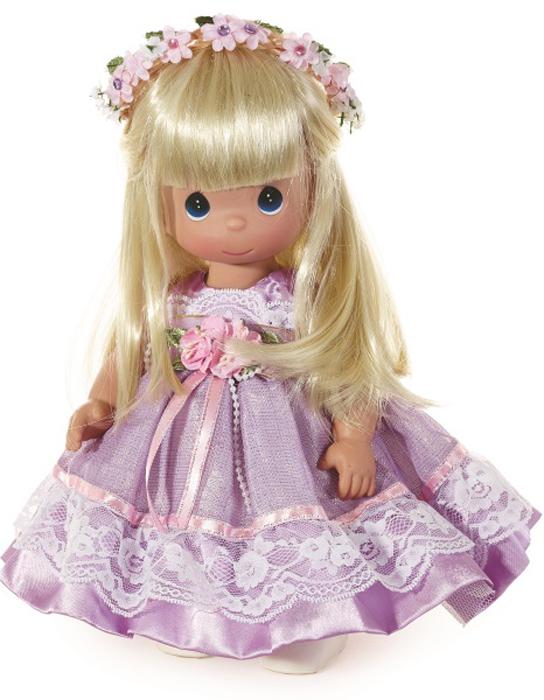 Precious Moments Кукла Прекрасная в Лаванде блондинка куклы и одежда для кукол precious кукла пастушка в розовом 14 см