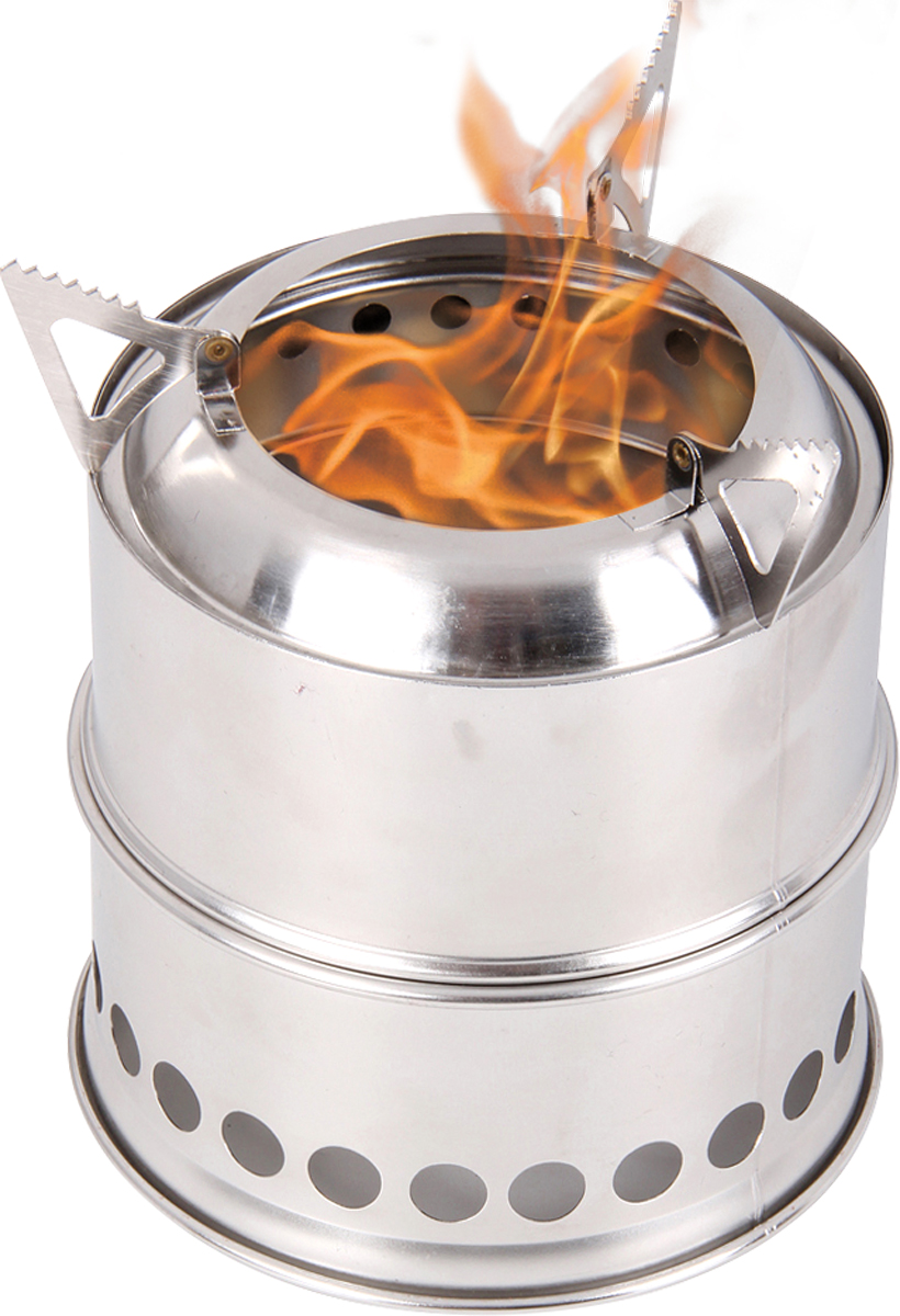 Печка-щепочница Glow Track, цвет: серебристый5121295Огонь – это жизнь, и пока у вас есть чашка горячего чая, ничто еще не потеряно. Glow Track - одна из самых легких и компактных печек. В качестветоплива для щепочницы используется практически любой горючий материал такой, например, как: шишки, веточки, щепки или сухое горючее. Благодаря этому печку можно использовать в местах, где сложно найти дрова или их недостаточно.Конструкция печки проста, каквсе гениальное. Корпус с отверстиями в нижней части закрывает пламя от ветра и создает хорошую тягу. В результате готовить можно быстро иэкономично.В собранном виде печка занимает столько же места, сколько банка тушенки, весит с чехлом 400 г, при этом не нужно нестигазовые баллоны или жидкое топливо. Удачных походов!