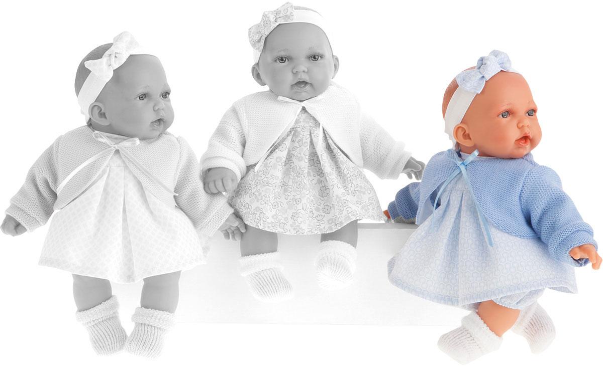 Juan Antonio Пупс Петти цвет одежды голубой куклы antonio juan кукла рамон в синем озвученная 40см