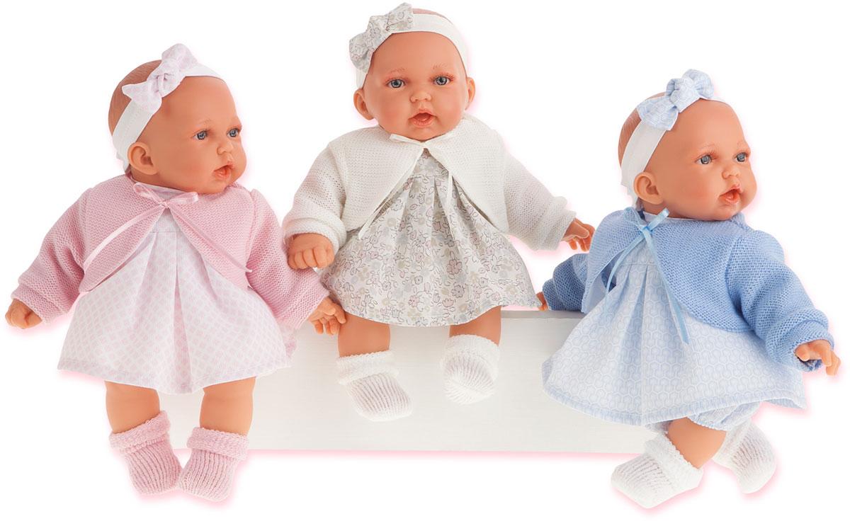 Juan Antonio Пупс Петти цвет одежды розовый куклы antonio juan кукла рамон в синем озвученная 40см