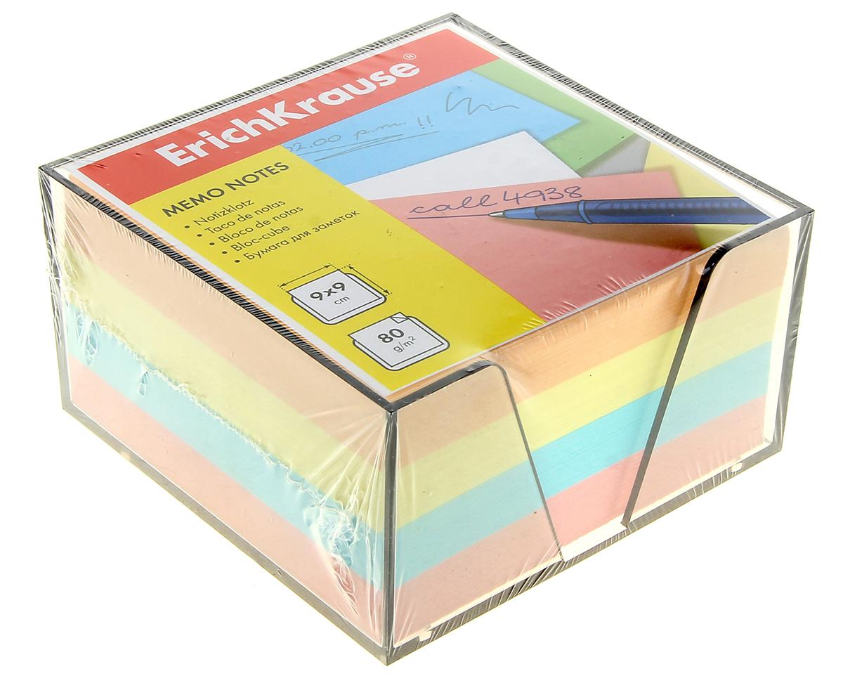 Erich Krause Блок для записей 9 x 9 см 10135941013594Бумага в пластиковой подставке – незаменимая вещь, которая помогает организовать пространство на вашем рабочем столе. Лаконичный дизайн и удобство в использовании сделает бумагу для заметок Erich Krause вашим надежным помощником.