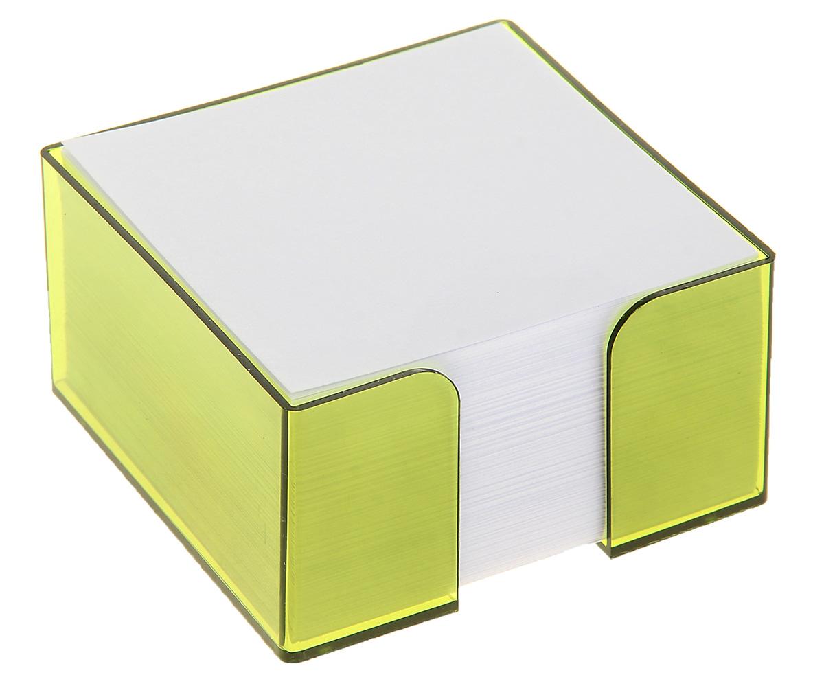 Стамм Блок для записей 9 x 9 см 580814580814Невозможно представить нашу жизнь без праздников! Мы всегда ждем их и предвкушаем, обдумываем, как проведем памятный день, тщательно выбираем подарки и аксессуары, ведь именно они создают и поддерживают торжественный настрой. Блок бумаги для записи 9х9х5см, Белый, в тонированном боксе Лайм — это отличный выбор, который привнесет атмосферу праздника в ваш дом!Часто появляется необходимость оставить небольшое послание коллеге, сделать пометку для родных или запомнить нужный телефон?Чтобы зафиксировать важную информацию, достаточно иметь при себе неброский, но необходимый в быту предмет — Блок бумаги для записи 9х9х5см, Белый, в тонированном боксе Лайм. Этот канцелярский аксессуар займет минимум места в сумке или на рабочем столе.