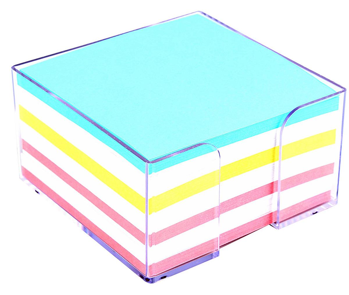 Стамм Блок для записей Эконом 9 x 9 см580822Невозможно представить нашу жизнь без праздников! Мы всегда ждем их и предвкушаем, обдумываем, как проведем памятный день, тщательно выбираем подарки и аксессуары, ведь именно они создают и поддерживают торжественный настрой. Блок бумаги для записи 9х9х5см, Цветной, в пластиковом боксе Эконом — это отличный выбор, который привнесет атмосферу праздника в ваш дом!Часто появляется необходимость оставить небольшое послание коллеге, сделать пометку для родных или запомнить нужный телефон?Чтобы зафиксировать важную информацию, достаточно иметь при себе неброский, но необходимый в быту предмет — Блок бумаги для записи 9х9х5см, Цветной, в пластиковом боксе Эконом. Этот канцелярский аксессуар займет минимум места в сумке или на рабочем столе.