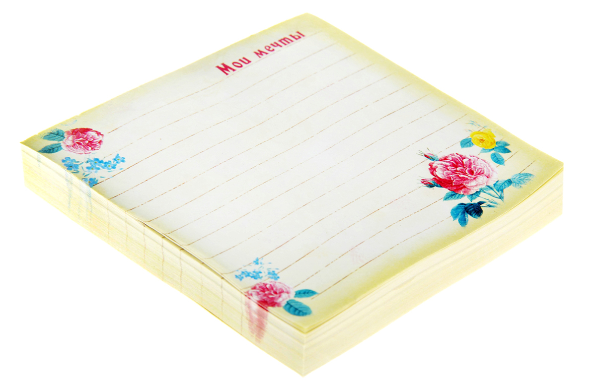 Блок для записей Мои мечты 9 x 9 см 150 листов орматек tatami fuji чехол tatami 160x200