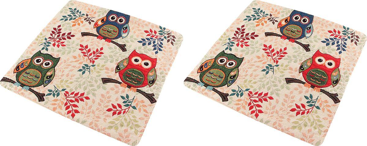 """Декоративная наволочка на подушку EL Casa """"Сова"""" благодаря своему лаконичному дизайну удачно впишется в интерьер любого дома. Элегантность немаркой окраски и комфорт впечатлят хозяев и их гостей."""