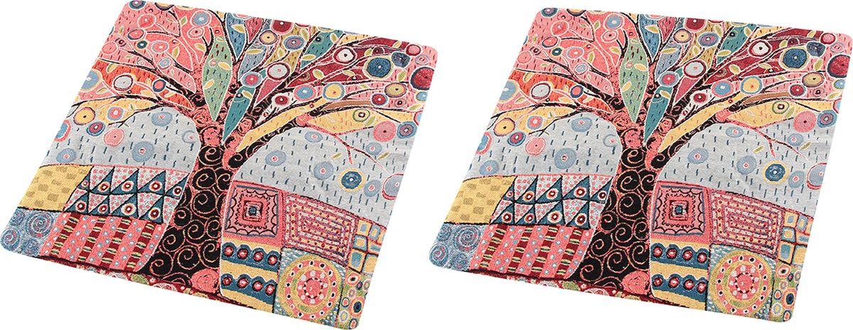 Наволочка декоративная EL Casa Дерево, 43 x 43 см, 2 шт наволочка декоративная el casa маки 43 x 43 см 2 шт
