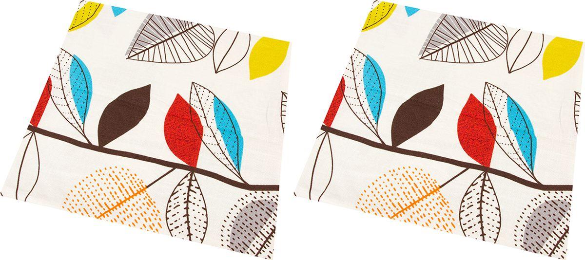 Наволочка декоративная EL Casa Графичные листья, цвет: красный, 43 x 43 см, 2 шт. 171651171651Декоративная наволочка на подушку. Благодаря своему лаконичному дизайну удачно впишется в интерьер любого дома. Элегантность немаркой окраски и комфорт впечатлят хозяев и их гостей.
