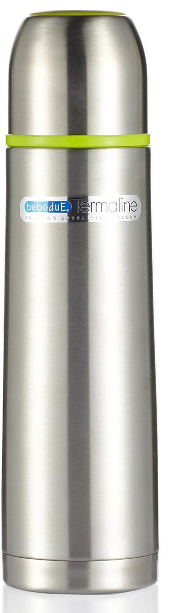 Термос 500 мл с клапаном для раздачи жидкости. Термос выполнен из высококачественной нержавеющей стали, не содержит вредных веществ. Поддерживает температуру напитка до 8 часов, в зависимости от температуры заливки. Может сохранять как горячую, так и холодную температуру напитка. Встроен съемный клапан для раздачи жидкости, который служит системой не проливания, на случай если термос опрокинется в открытом состоянии. Ударопрочный, герметичный, удобная форма, крышка используется как стакан. Незаменимый помощник на длительных прогулках, путешествиях, тренировках, при посещении роддомов и больниц. Можно мыть в посудомоечной машине, кроме клапана! С термосом в наборе идет сумка переноска на ремешке.Bebe Due Термос 500 мл, с клапаном для раздачи жидкости