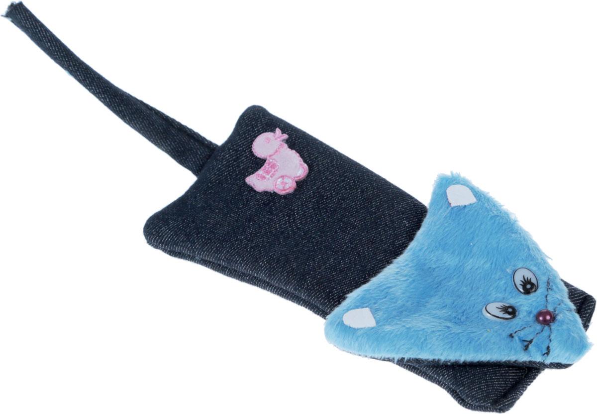 Игрушка для кошек GLG Мышка, шуршащая, 22 смGLG036Игрушка для кошек GLG Мышка изготовлена из плюша и имеет целофановую вставку. Игрушка привлечет внимание вашего питомца и порадует, а вам доставит массу приятных эмоций, ведь наблюдать за ним одно удовольствие. Размер: 22 см.
