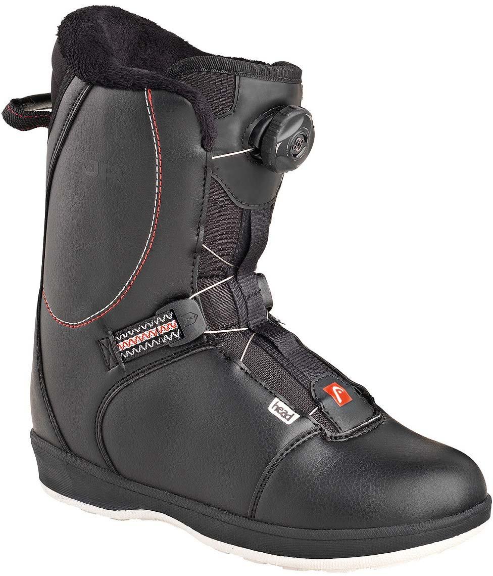 Ботинки для сноуборда Head Jr Boa. 355306. Размер 24,5/25,5355306_245/255Подростковый ботинок, в котором вашему ребенку будет тепло и комфортно весь день на склоне. Интегрированный внутренний ботинок, быстрая и простая шнуровка Boa, термоизоляционная подошва. Ботинок можно регулировать под размер за счет дополнительной стельки.Длина стопы 24,5/25,5 см.Как выбрать сноуборд. Статья OZON Гид