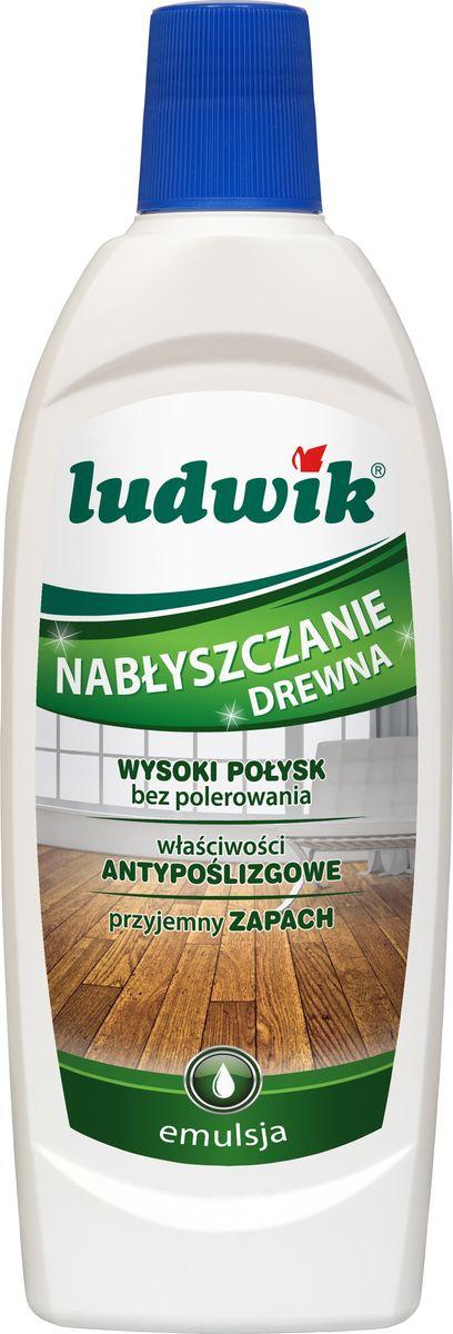 Эмульсия Ludwik, для придания блеска деревянным полам и паркету, 500 мл