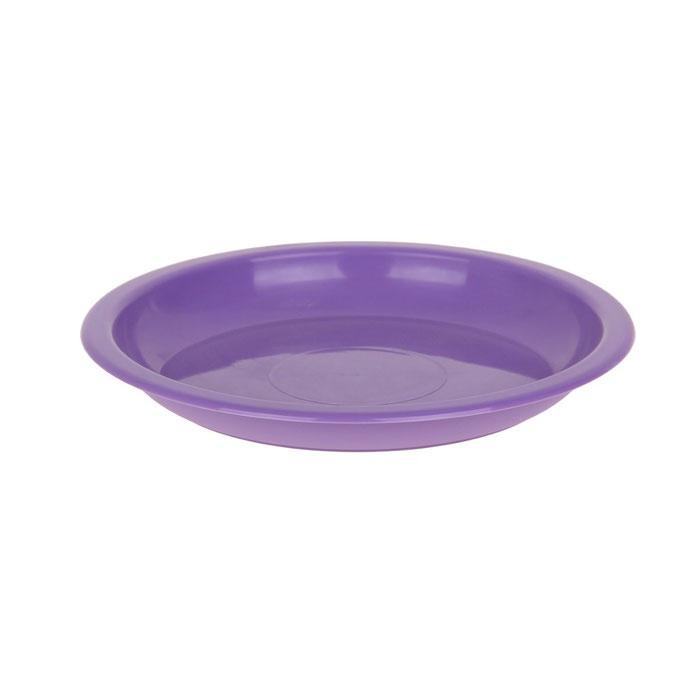 Тарелка Мартика, для вторых блюд, цвет: сиреневый, 180 х 20 см. С152С152Изделие выполнено с соблюдением необходимых требований к качеству и безопасности, включая санитарные, которые предъявляются к пластиковой продукции. Удобно в обращении. Имеет яркие цвета, привлекательный современный дизайн и высокий запас прочности. Материалы, используемые при производстве, отвечают всем необходимым санитарным нормам и стандартам качества и разрешены для контакта с пищевыми продуктами.