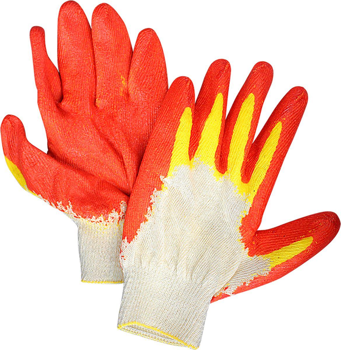 Перчатки Partner, с двойным латексным покрытиемПР038450Крепкие трикотажные перчатки Partner защитят ваши руки гораздо надежнее.Благодаря двойному латексному покрытию рабочие перчатки: - не промокают,- легко очищаются,- не пропускают колючки,- не рвутся даже при активном использовании.Такие перчатки подойдут для работы в саду и огороде, в гараже и на производстве, а также станут незаменимым помощником для проведения строительных и ремонтных работ.