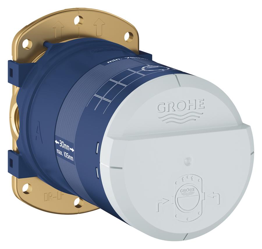 Часть встраиваемая Grohe, универсальная, с ограничением расхода воды 9,5 л/мин. 26484000 1 2pt male port water flow sensor switch control meter flowmeter 1 5 30l min