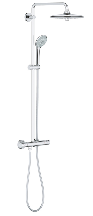 Cистема душевая Grohe Euphoria, с термостатом. 27296002 handheld water saving pressure rain shower head 18