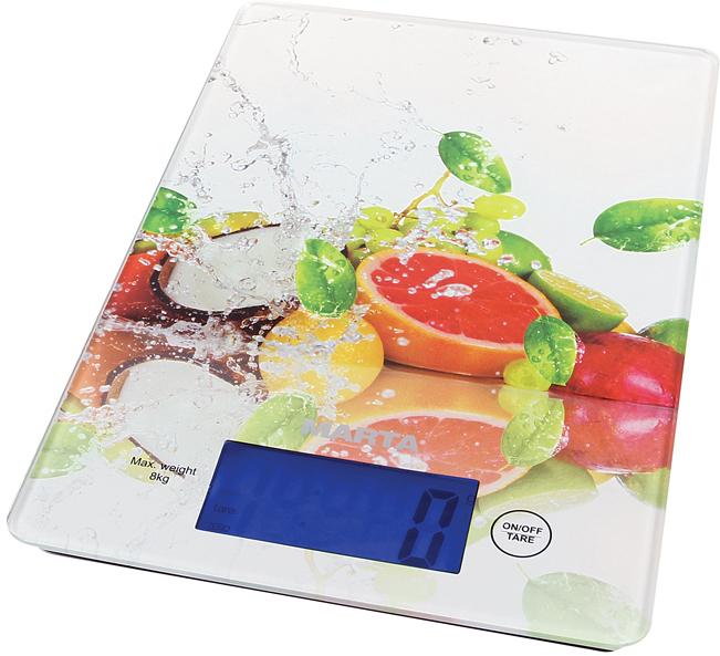 Marta MT-1633 Фруктовый микс весы кухонные