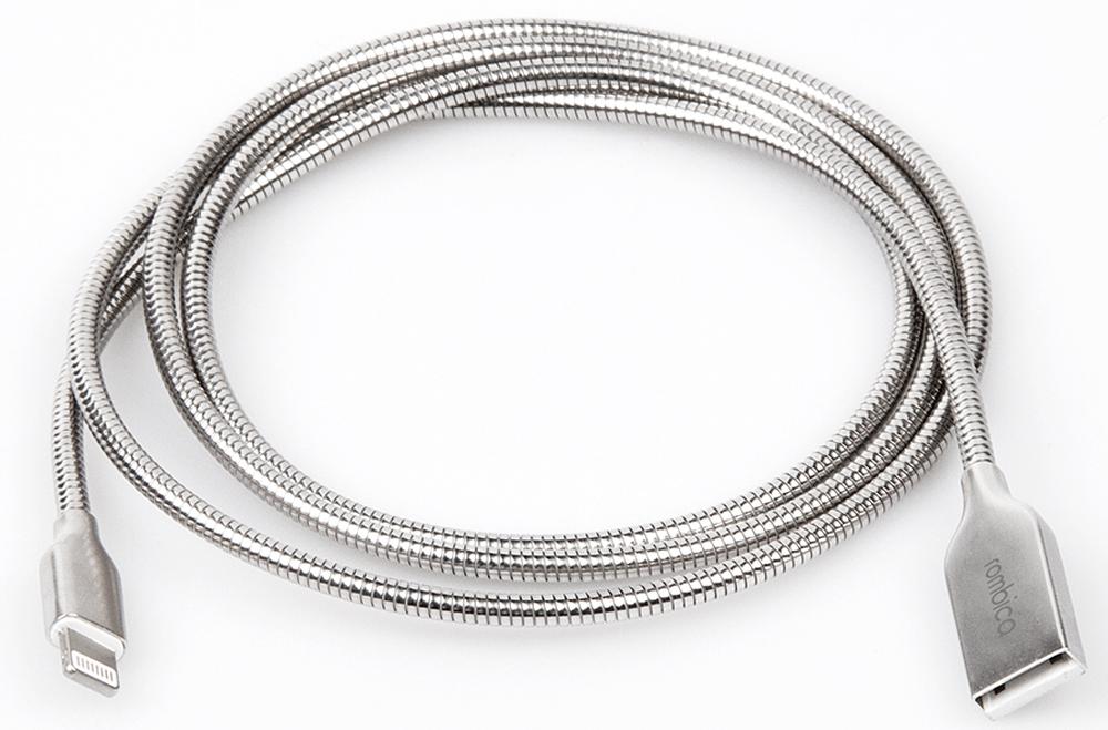 Rombica Digital IS-10, Silver кабель USB - Lightning (1 м)CB-IS10