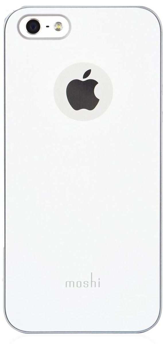 Moshi iGlazeчехол дляiPhone SE/5/5S, Pearl White99MO061101;99MO061101iGlaze - основная линейка защитных чехлов Moshi. Представляет собой изящный и стильный чехол, защищающий ваш iPhone, сохраняя его оригинальный внешний вид. Все кнопки устройства легко доступны, также, как и управление камерой гаджета, когда он располагается в чехле. Все чехлы нашей линейки оснащены специальным покрытием, обеспечивающим прекрасный внешний вид.Сверхтонкий чехол, идеально подходящий к iPhone.Покрытие повышенной надёжности, гарантирующее дополнительную защиту от царапин.Разработан и протестирован для обеспечения максимальной функциональности вспышки; никаких бликов на фото при использовании вспышки.Все кнопки iPhone легко доступны при нахождении гаджета в чехле.