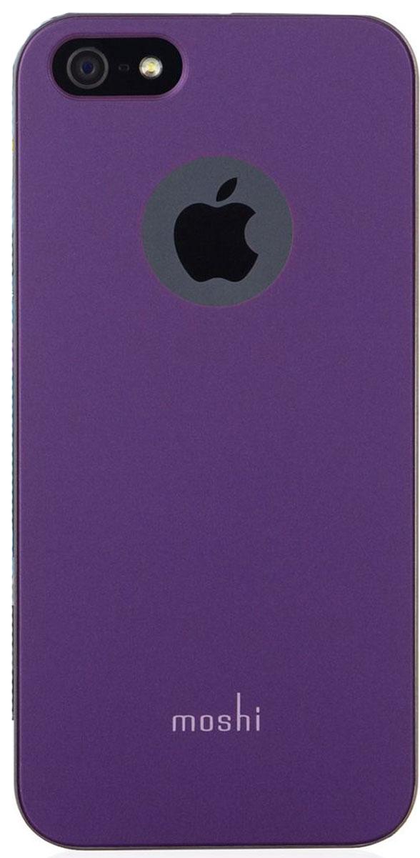 Moshi iGlazeчехол дляiPhone SE/5/5S, Tyrian Purple99MO061411;99MO061411iGlaze - основная линейка защитных чехлов Moshi. Представляет собой изящный и стильный чехол, защищающий ваш iPhone, сохраняя его оригинальный внешний вид. Все кнопки устройства легко доступны, также, как и управление камерой гаджета, когда он располагается в чехле. Все чехлы нашей линейки оснащены специальным покрытием, обеспечивающим прекрасный внешний вид.Сверхтонкий чехол, идеально подходящий к iPhone.Покрытие повышенной надёжности, гарантирующее дополнительную защиту от царапин.Разработан и протестирован для обеспечения максимальной функциональности вспышки; никаких бликов на фото при испольщовании вспышки.Все кнопки iPhone легко доступны при нахождении гаджета в чехле.