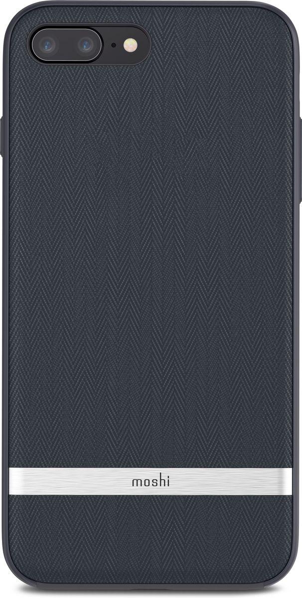 Moshi Vesta чехол для iPhone 8 Plus, Bahama Blue99MO090513Moshi Vesta создан с использованием саржи и металлизированной рамки, чтобы прекрасно сочетать винтажный вид с современной изысканностью. Чехол обеспечивает противоударную защиту, соответствующую оборонным стандартам и имеет приподнятые края, которые защищают экран iPhone, когда он лежит экраном вниз. Поверхность обработана покрытием TriClear, которое противостоит воде, грязи и царапинам, чтобы ваш чехол сохранял свой блеск на протяжении долгого времени.