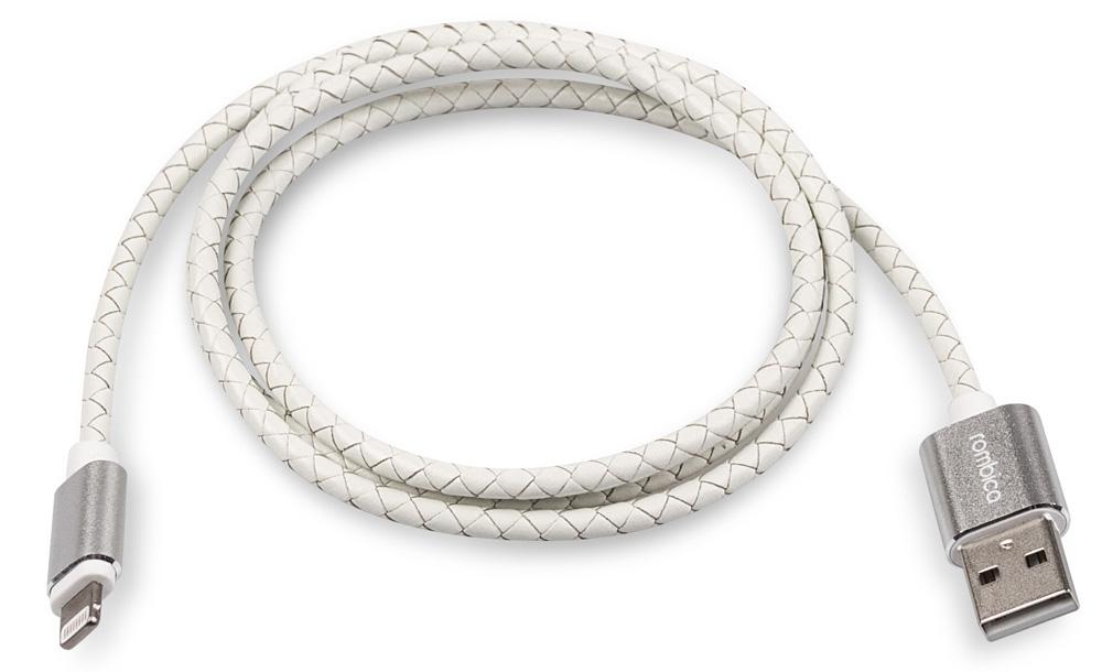 Rombica Digital IL-05, White кабель USB - Lightning (1 м)CB-IL05