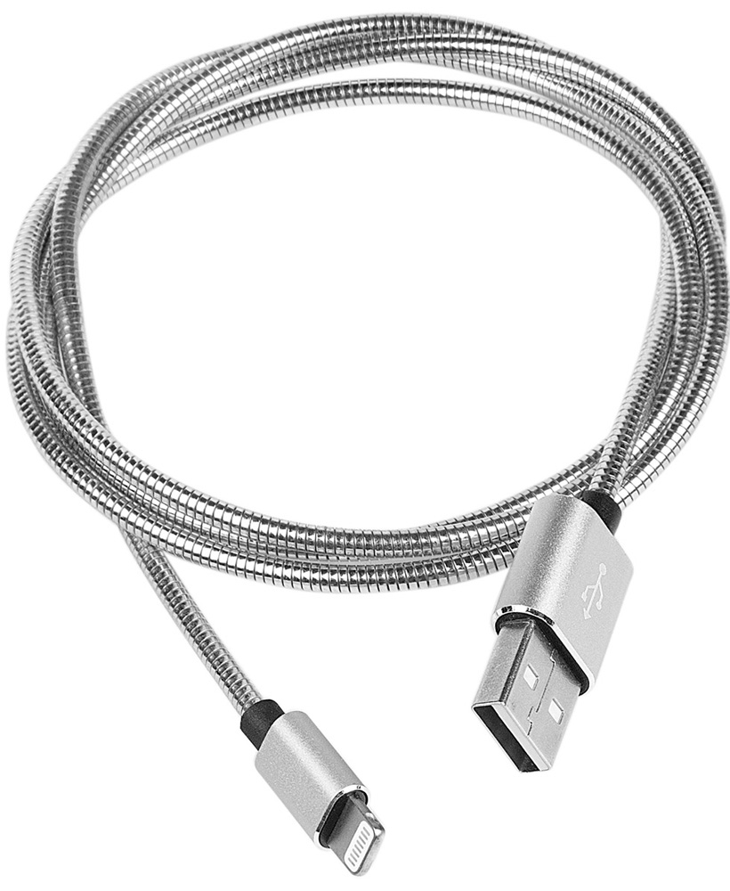 Rombica Digital IS-03, Silver кабель USB - Lightning (1 м)CB-IS03