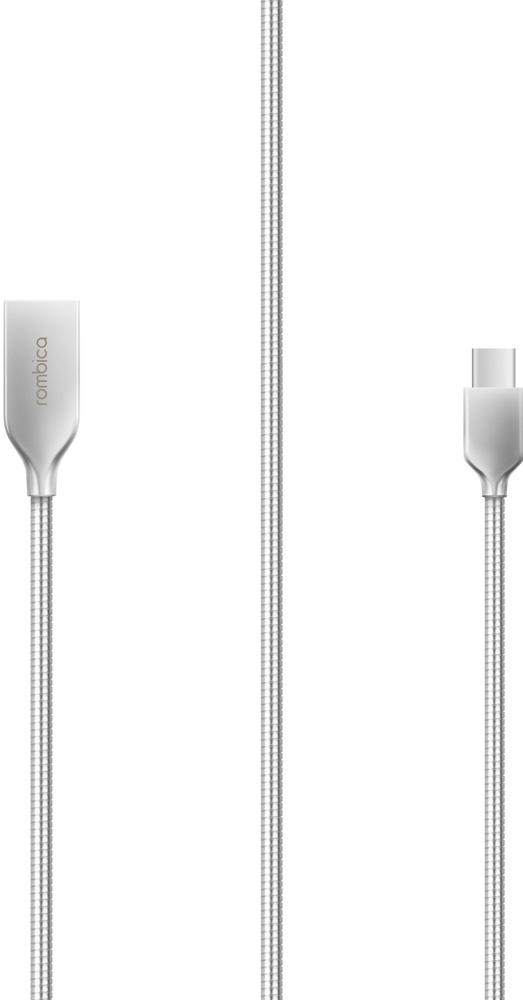 Rombica Digital CS-10, Silver кабель USB 2.0 - Type-C (1 м)