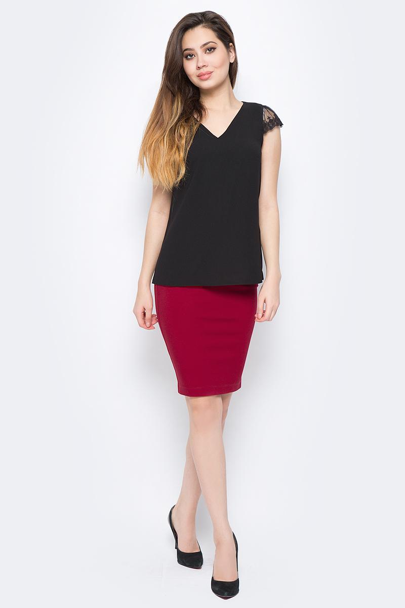 Блузка женская adL, цвет: черный. 11529625003_001. Размер XS (40/42) adl ad005ewqdi75