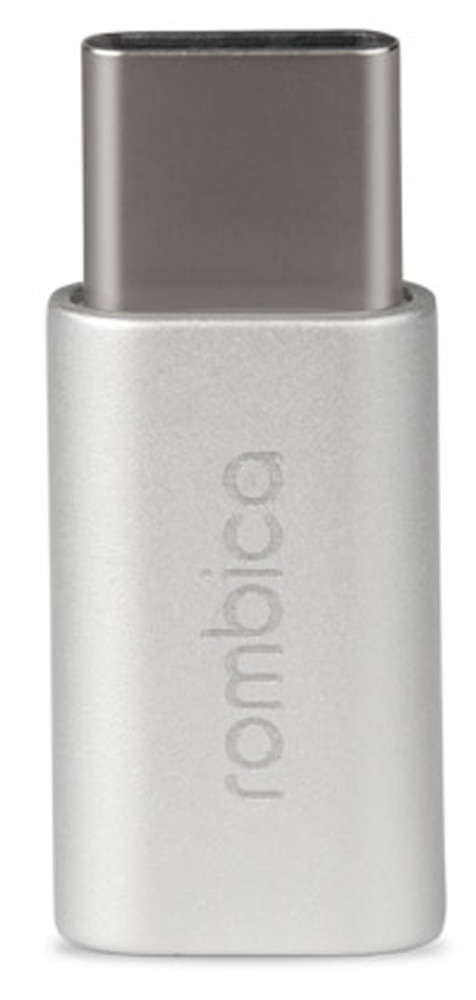 Rombica Type-C Adapter, Silver переходник USB - Type C usb3 0 round type panel mounting usb connecter silver surface