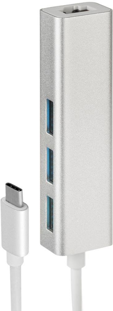 Rombica Type-C Hub, Black USB-концентраторTC-00020