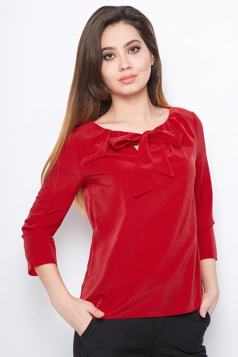Блузка женская adL, цвет: красный. 11527538002_006. Размер XS (40/42)