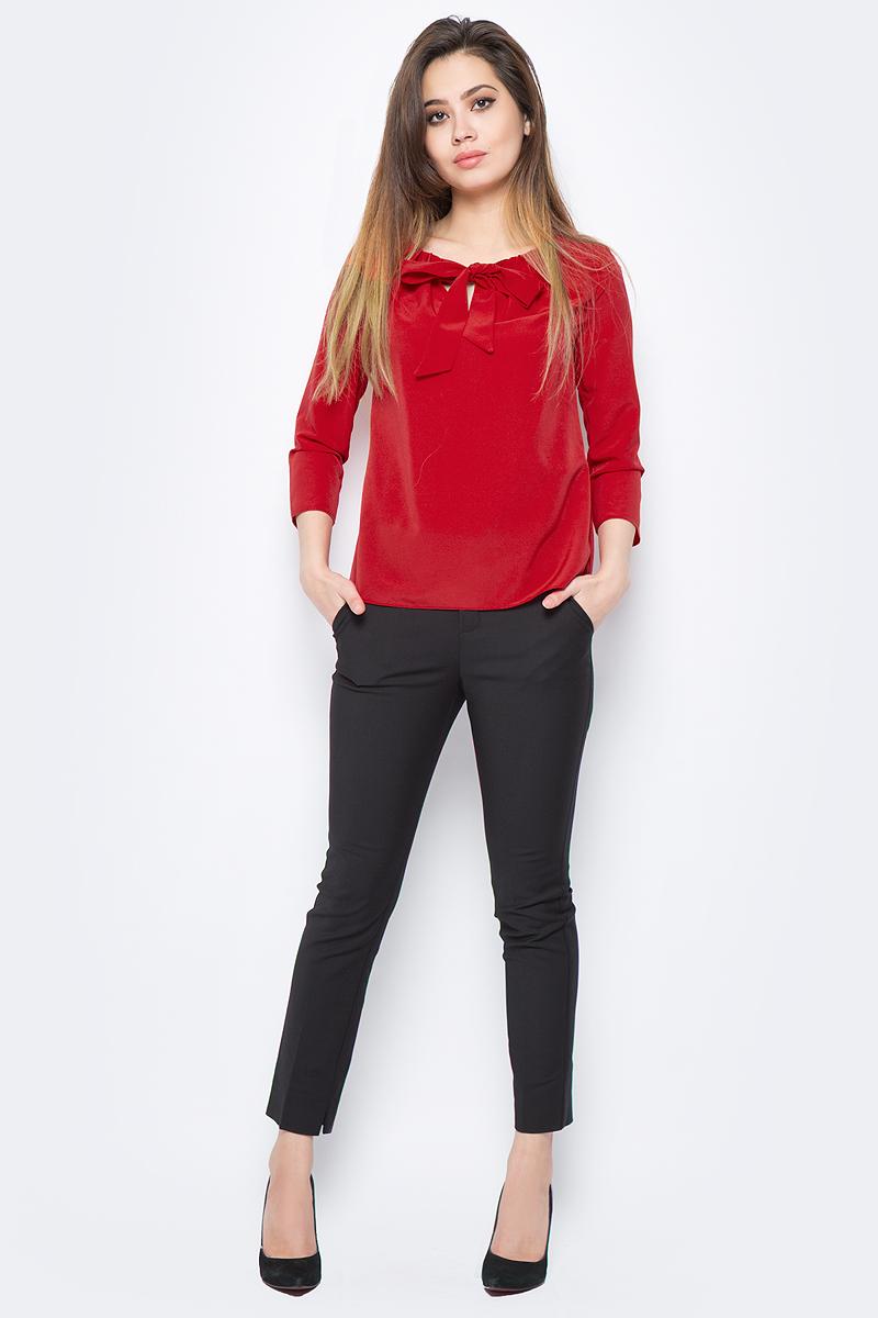 Блузка женская adL, цвет: красный. 11527538002_006. Размер XS (40/42)11527538002_006