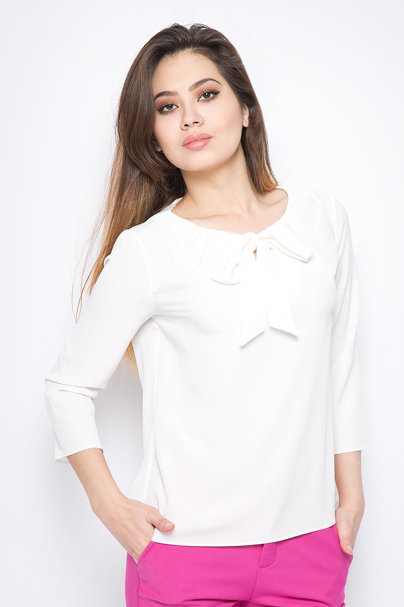 Блузка женская adL, цвет: кремовый. 11527538002_019. Размер XS (40/42)