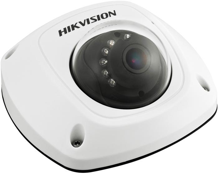 Hikvision DS-2CD2542FWD-IWS 4mm камера видеонаблюдения3571814Мп уличная компактная IP-камера с Wi-Fi и ИК-подсветкой до 10м 1/3 Progressive Scan CMOS; объектив 4мм; угол обзора 83°; механический ИК-фильтр; 0.01лк@F1.2; сжатие H.264/MJPEG/H.264+; двойной поток; 2688?1520@20к/с, 1920?1080@25к/с; WDR 120дБ, 3D DNR, BLC, ROI; обнаружение движения, вторжения в область и пересечения линии; слот для microSD до 128Гб; встроенный микрофон, 1 аудиовыход; тревожные вход/выход 1/1; 1 RJ45 10M/100M Ethernet; DC12В± 25%/PoE(802.3af); 5Вт макс; -40 °C...+60 °C; IP67; IK08; вес 0.6кг.