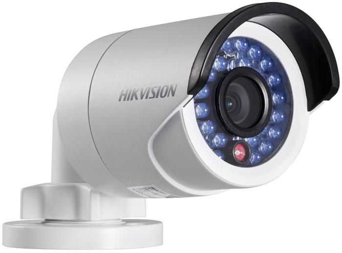 Hikvision DS-2CD2042WD-I 8mm камера видеонаблюдения3734804Мп уличная цилиндрическая IP-камера с ИК-подсветкой до 30м1/3 Progressive Scan CMOS; объектив 8мм; угол обзора 38.5°; механический ИК-фильтр; 0.01лк@F1.2; сжатие H.264/MJPEG/H.264+; двойной поток; 2688?1520@20к/с, 1920?1080@25к/с; WDR 120дБ, 3D DNR, BLC, ROI; обнаружение движения, вторжения в область и пересечения линии; 1 RJ45 10M/100M Ethernet; DC12В± 25%/PoE(802.3af); 5Вт макс; -40 °C...+60 °C; IP67; вес 0.5кг.