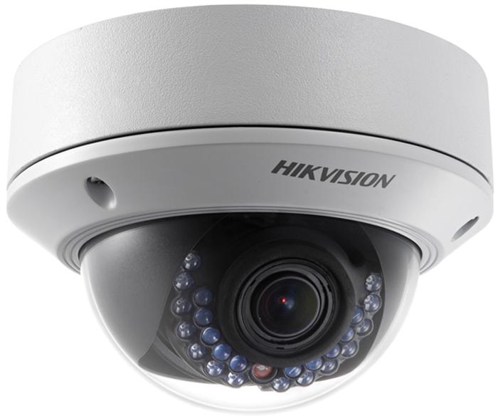 Hikvision DS-2CD2722FWD-IZS камера видеонаблюдения4019942Мп уличная купольная IP-камера с ИК-подсветкой до 30м 1/2.8 Progressive Scan CMOS; моторизированный вариообъектив 2.8-12мм; угол обзора 106°~35°; механический ИК-фильтр; 0.01лк@F1.2; сжатие H.264/MJPEG/H.264+; двойной поток; 1920?1080@25к/с; WDR 120дБ, 3D DNR, BLC, ROI; обнаружение движения, вторжения в область и пересечения линии; слот для microSD до 128Гб; аудиовход/выход 1/1; тревожные вход/выход 1/1; 1 RJ45 10M/100M Ethernet; DC12В± 25%/PoE(802.3af); 5.5Вт макс; -40 °C...+60 °C; IP67; IK10; вес 1кг.