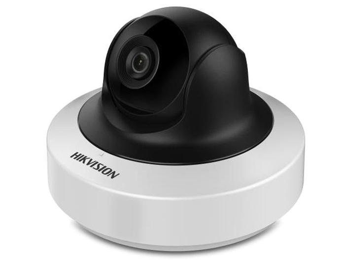 Hikvision DS-2CD2F22FWD-IWS 4mm камера видеонаблюдения4083582Мп компактная IP-камера с функцией поворота/наклона, Wi-Fi и ИК-подсветкой до 10м1/2.8 Progressive Scan CMOS; объектив 4мм; угол обзора 90°; механический ИК-фильтр; 0.01лк@F1.2; сжатие H.264/MJPEG/H.264+; двойной поток; 1920?1080@25к/с; WDR 120дБ, 3D DNR, HLC, BLC, ROI; обнаружение движения, вторжения в область и пересечения линии; вращение -90° - 50°, наклон 0° - 75°; слот для microSD до 128Гб; аудиовход/выход 1/1; тревожные вход/выход 1/1; 1 RJ45 10M/100M Ethernet; DC12В ± 25%/PoE(802.3af); 9Вт макс; -10 °C...+40 °C; вес 0.5кг.