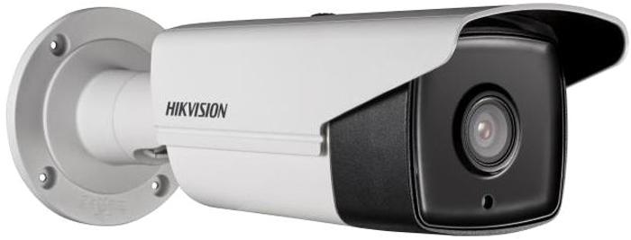 Hikvision DS-2CD2T42WD-I8 6mm камера видеонаблюдения4083704Мп уличная цилиндрическая IP-камера с EXIR-подсветкой до 80м 1/3 Progressive Scan CMOS; объектив 6мм; угол обзора 55.4°; механический ИК-фильтр; 0.01лк@F1.2; сжатие H.264/MJPEG/H.264+; двойной поток; 2688?1520@20к/с, 1920?1080@25к/с; WDR 120дБ, 3D DNR, BLC, ROI; обнаружение движения, вторжения в область и пересечения линии; 1 RJ45 10M/100M Ethernet; DC12В± 25%/PoE(802.3af); 10.5Вт макс; -40 °C...+60 °C; IP67; вес 1.2кг.
